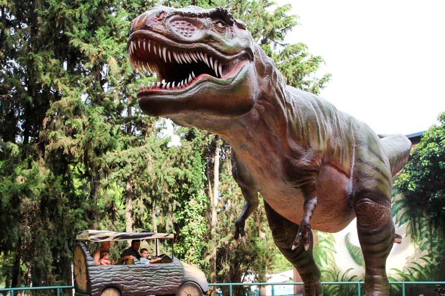 13. Jurassic Car