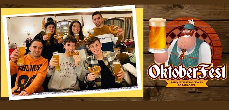 Venir a la Oktoberfest del Parque de Atracciones... ¡¡TIENE PREMIO!!